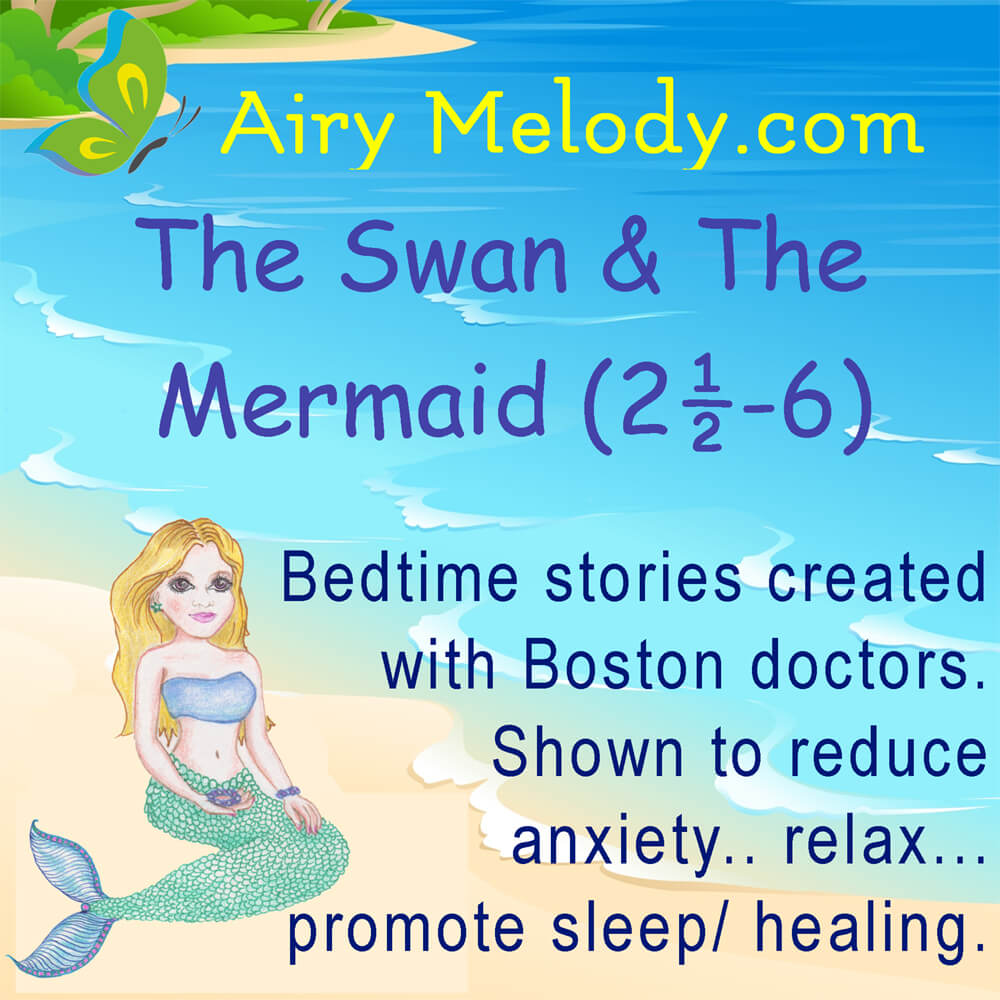 Guided sleep meditation for kids: The Swan And The Mermaid